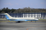 twinengineさんが、成田国際空港で撮影した大韓航空 BD-700-1A10 Global Expressの航空フォト(写真)