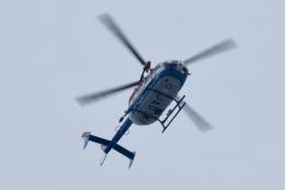 飛行機ゆうちゃんさんが、横浜ヘリポートで撮影した川崎市消防航空隊 BK117C-2の航空フォト(飛行機 写真・画像)