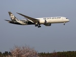 garrettさんが、成田国際空港で撮影したニュージーランド航空 787-9の航空フォト(写真)