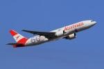 気分屋さんが、成田国際空港で撮影したオーストリア航空 777-2Q8/ERの航空フォト(飛行機 写真・画像)