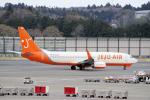 yabyanさんが、成田国際空港で撮影したチェジュ航空 737-8Q8の航空フォト(写真)