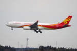 yabyanさんが、成田国際空港で撮影した香港航空 A330-343Xの航空フォト(飛行機 写真・画像)
