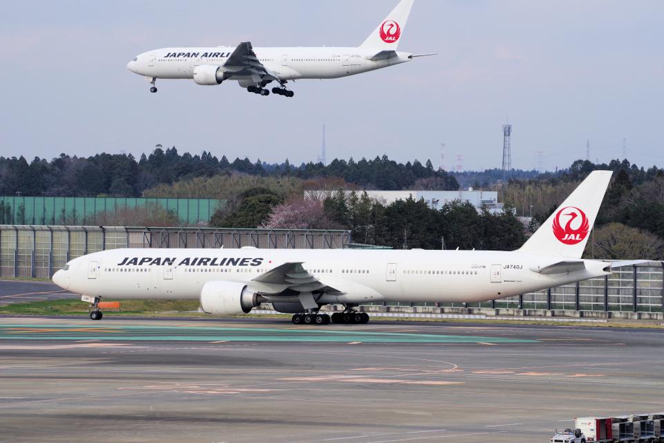 yabyanさんの日本航空 Boeing 777-300 (JA740J) 航空フォト