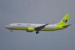 yabyanさんが、成田国際空港で撮影したジンエアー 737-86Nの航空フォト(飛行機 写真・画像)