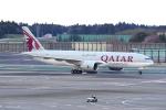 yabyanさんが、成田国際空港で撮影したカタール航空カーゴ 777-FDZの航空フォト(飛行機 写真・画像)