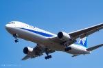 ⚓ほそっち⚓さんが、鹿児島空港で撮影した全日空 767-381/ERの航空フォト(写真)