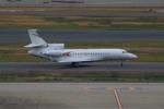 やつはしさんが、羽田空港で撮影したBrookline Holdings Ltd Falcon 8Xの航空フォト(写真)