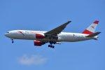islandsさんが、成田国際空港で撮影したオーストリア航空 777-2B8/ERの航空フォト(写真)