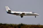 ザキヤマさんが、熊本空港で撮影した朝日新聞社 560 Citation Encoreの航空フォト(写真)