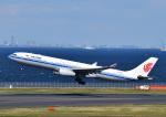 じーく。さんが、羽田空港で撮影した中国国際航空 A330-343Eの航空フォト(飛行機 写真・画像)