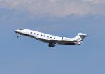 じーく。さんが、羽田空港で撮影したカタール・エグゼクティブ G650 (G-VI)の航空フォト(飛行機 写真・画像)