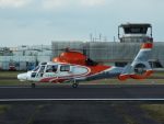 otromarkさんが、八尾空港で撮影したエアバス・ヘリコプターズ・ジャパン AS365N3 Dauphin 2の航空フォト(写真)