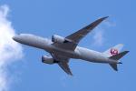 yabyanさんが、成田国際空港で撮影した日本航空 787-8 Dreamlinerの航空フォト(写真)