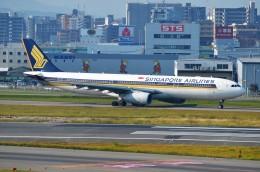 amagoさんが、福岡空港で撮影したシンガポール航空 A330-343Xの航空フォト(飛行機 写真・画像)