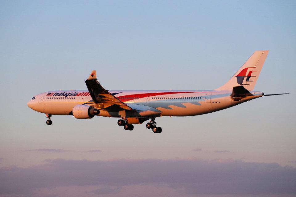 yabyanさんのマレーシア航空 Airbus A330-300 (9M-MTM) 航空フォト