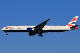 ★azusa★さんが、シンガポール・チャンギ国際空港で撮影したブリティッシュ・エアウェイズ 777-336/ERの航空フォト(写真)