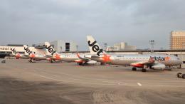 誘喜さんが、成田国際空港で撮影したジェットスター・ジャパン A320-232の航空フォト(飛行機 写真・画像)