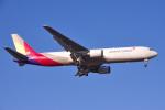yabyanさんが、成田国際空港で撮影したアシアナ航空 767-38EF/ERの航空フォト(飛行機 写真・画像)