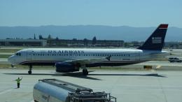 AE31Xさんが、ノーマン・Y・ミネタ・サンノゼ国際空港で撮影したUSエアウェイズ A320-232の航空フォト(飛行機 写真・画像)