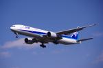 yabyanさんが、成田国際空港で撮影した全日空 777-381/ERの航空フォト(飛行機 写真・画像)