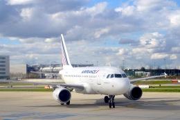 航空フォト:F-GUGL エールフランス航空 A318
