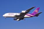 yabyanさんが、成田国際空港で撮影したタイ国際航空 A380-841の航空フォト(写真)