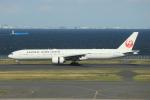 jjieさんが、羽田空港で撮影した日本航空 777-346/ERの航空フォト(写真)