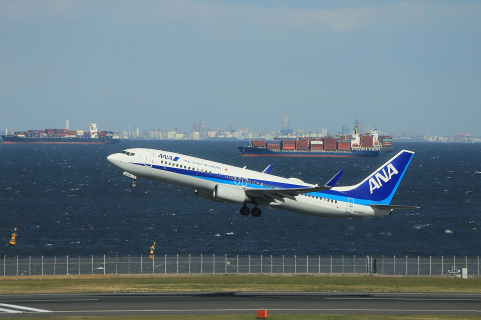 jjieさんの全日空 Boeing 737-800 (JA56AN) 航空フォト