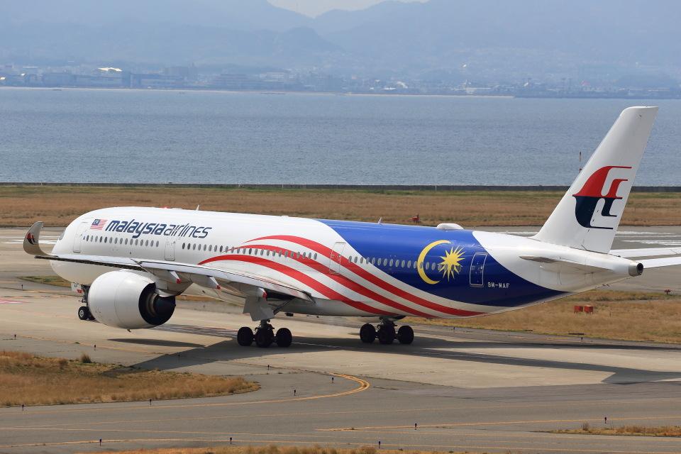 T.Sazenさんのマレーシア航空 Airbus A350-900 (9M-MAF) 航空フォト