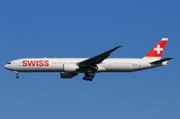 ★azusa★さんが、シンガポール・チャンギ国際空港で撮影したスイスインターナショナルエアラインズ 777-3DE/ERの航空フォト(写真)