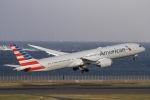 ぐっちーさんが、羽田空港で撮影したアメリカン航空 787-9の航空フォト(写真)