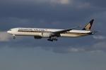 SIさんが、成田国際空港で撮影したシンガポール航空 777-312/ERの航空フォト(写真)