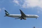 MA~RUさんが、羽田空港で撮影したキャセイパシフィック航空 777-367/ERの航空フォト(写真)