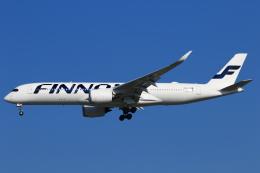 ★azusa★さんが、シンガポール・チャンギ国際空港で撮影したフィンエアー A350-941XWBの航空フォト(写真)