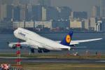 フォト太郎さんが、羽田空港で撮影したルフトハンザドイツ航空 747-230Bの航空フォト(写真)