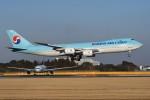 tassさんが、成田国際空港で撮影した大韓航空 747-8B5F/SCDの航空フォト(飛行機 写真・画像)