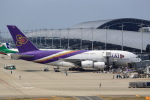 T.Sazenさんが、関西国際空港で撮影したタイ国際航空 A380-841の航空フォト(飛行機 写真・画像)