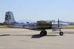 masa707さんが、チノ空港で撮影したMARINE AVIATION MUSEUM INC, A-26B Invaderの航空フォト(写真)