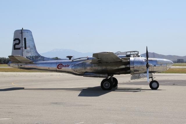 masa707さんが、チノ空港で撮影したMARINE AVIATION MUSEUM INC, A-26B Invaderの航空フォト(飛行機 写真・画像)