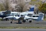 あきらっすさんが、調布飛行場で撮影した日本法人所有 DA42 TwinStarの航空フォト(写真)
