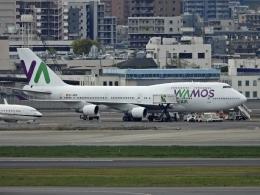 チャレンジャーさんが、羽田空港で撮影したワモス・エア 747-4H6の航空フォト(写真)