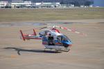 Cスマイルさんが、花巻空港で撮影した朝日新聞社 MD 900/902の航空フォト(写真)