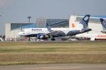 OMAさんが、成田国際空港で撮影したオーロラ A319-111の航空フォト(写真)