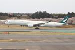 OMAさんが、成田国際空港で撮影したキャセイパシフィック航空 A350-1041の航空フォト(写真)