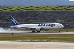 ミッキーさんが、長崎空港で撮影した全日空 767-381F/ERの航空フォト(飛行機 写真・画像)