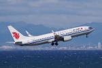 yabyanさんが、中部国際空港で撮影した中国国際航空 737-89Lの航空フォト(飛行機 写真・画像)