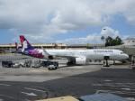ロボキさんが、ダニエル・K・イノウエ国際空港で撮影したハワイアン航空 A321-271Nの航空フォト(写真)