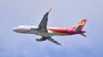 パンダさんが、成田国際空港で撮影した香港航空 A320-214の航空フォト(写真)