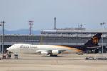 JA946さんが、関西国際空港で撮影したUPS航空 747-8Fの航空フォト(写真)