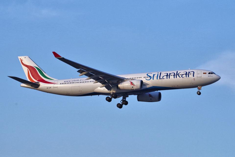 yabyanさんのスリランカ航空 Airbus A330-300 (4R-ALM) 航空フォト